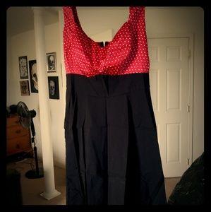 Torrid pinup style dress